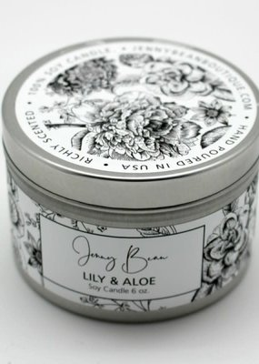 Jenny Bean Lily and Aloe Jar Candle