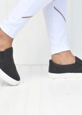 Fashion Chic Black Slip On Loafer