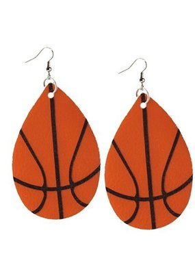Your Fashion Wholesale Basketball Earrings