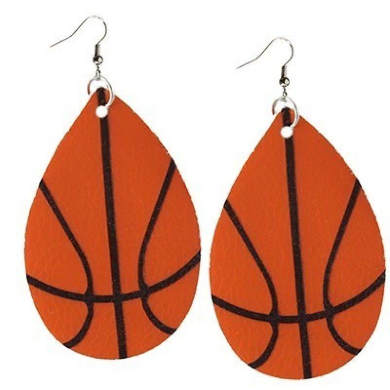 Your Fashion Wholesale Basketball Earrings