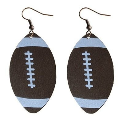 Your Fashion Wholesale Football Earrings