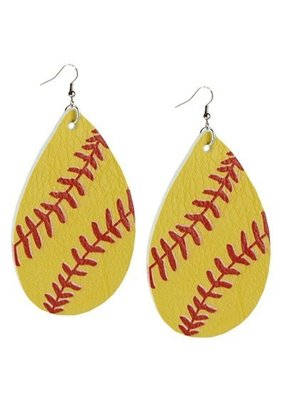 LTB Softball Earrings