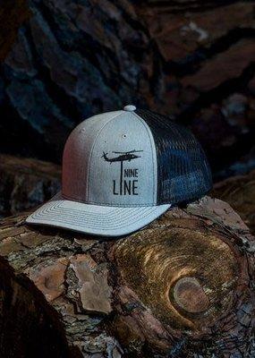 NINE LINE NINE LINE  Dropline Snap Back Hat - Grey