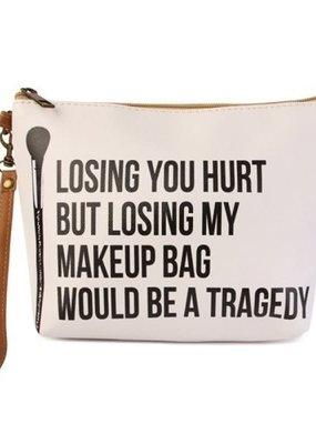 "MYS Losing You Hurt"" Makeup Bag"
