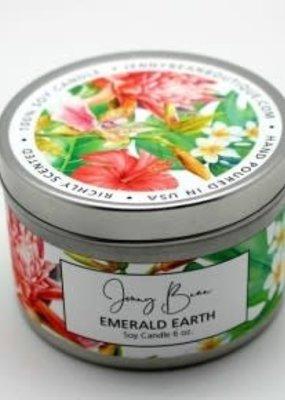 Jenny Bean Emerald Earth Jar Candle