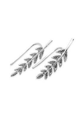 MYS Silver Crawler Earrings
