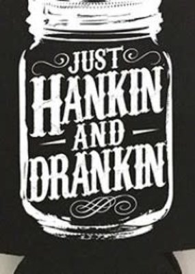 Diamond Diva Designs Just Hankin' & Drankin' Coozie