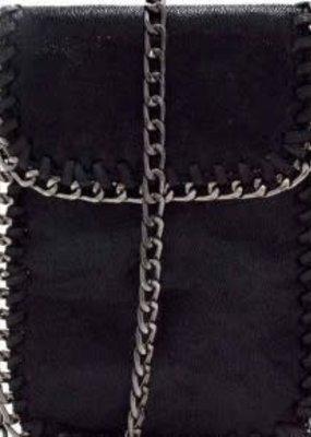 Princess Purse Mini Black Crossbody Purse with Chain