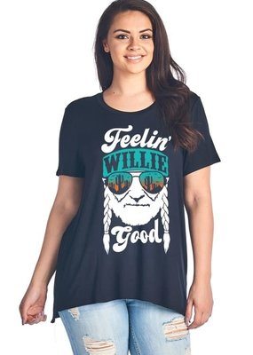 Zutter Feelin' Willie Good Tee - Black