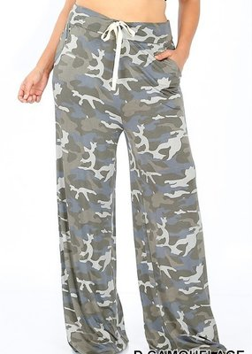 Zenana Camo Lounge Pants