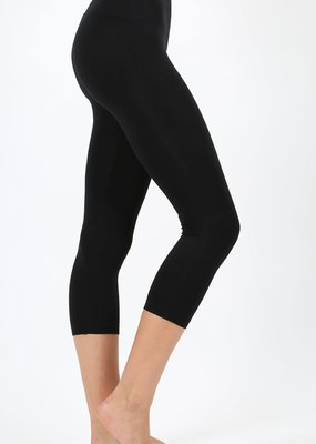 Zenana Black Capri Legging
