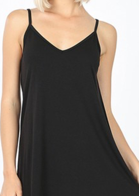 Zenana Black Reversible Tank