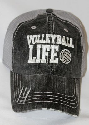 Plain Apparel Tees Volleyball Life Mesh Hat