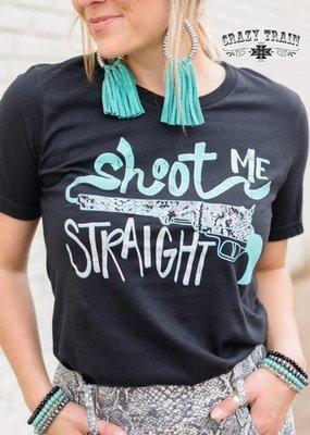 Crazy Train Shoot Me Straight Tee