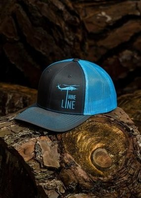 NINE LINE NINE LINE Dropline Snap Back Hat - Blue