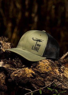 NINE LINE Nine Line Dropline Snapback Hat Olive Green