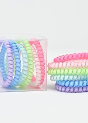 Cute Little Trends Sweet Tart Mini 6 Pack Hair Ties