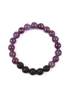 MYS Purple Natural Stone Bracelet