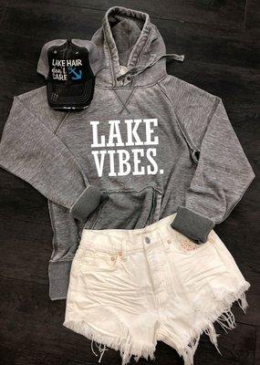 Vintage Soul Lake Vibes Hoodie