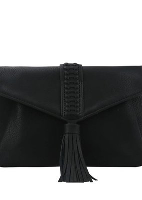 PJEE  Handbags Black Clutch and Cross Body Bag