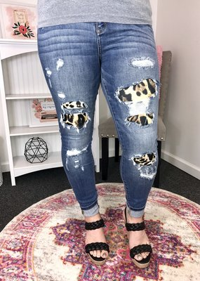 Judy Blue Judy Blue Leopard Skinny 658