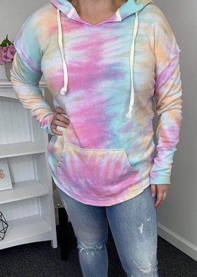 Ocean & 7th Tie Dye Summer Hoodie