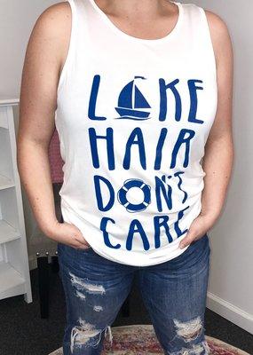 Zutter Lake Hair Don't Care - White
