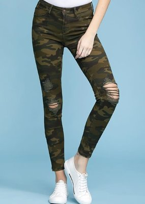 Judy Blue Judy Blue Camouflage Skinnies