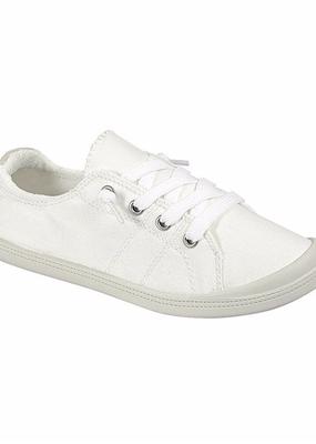 Forever Trendy White Slip On Sneaker