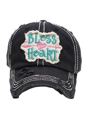 Too Too Hat Bless Your Heart - Charcoal