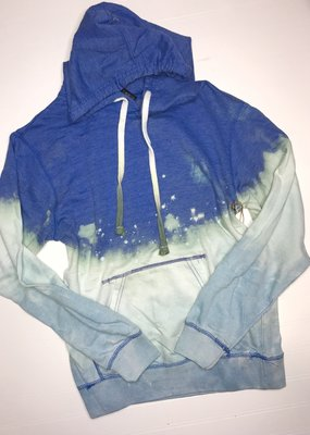 Artifacts Summer Nights Bleached Blue Hoodie