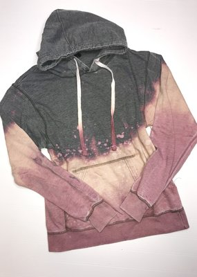 Artifacts Summer Nights Bleached Gray Hoodie