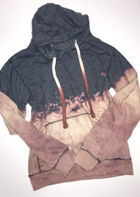 Artifacts Summer Nights Bleached Charcoal Hoodie