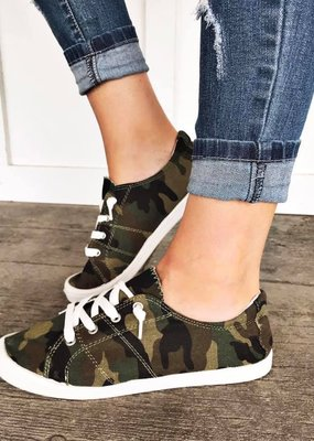 M&Z Sky Shoes Camouflage Slip On Sneaker