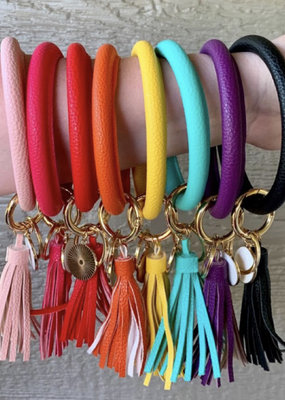 Cute Little Trends Solid Key Chain Bangles
