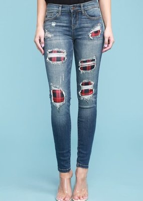 Judy Blues Judy Blue Buffalo Skinnies 568