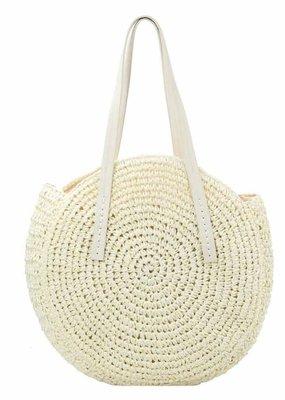 Isabella Chantel Straw Beach Bag