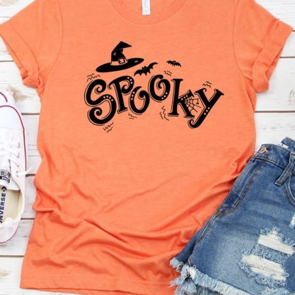 Kissed Apparel Spooky Graphic Tee