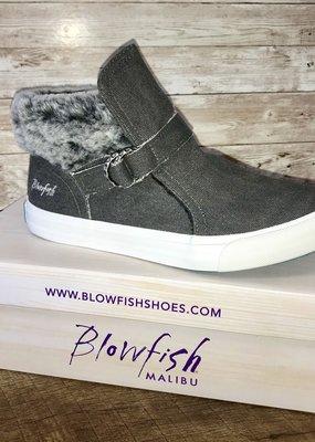 Blowfish Charcoal Fur Blowfish Sneakers