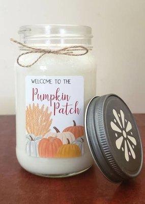 "Sugar Belle Candles ""Pumpkin Patch"" Pumpkin Pecan Pancakes Candle - 13 oz."