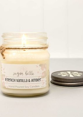 Sugar Belle Candles French Vanilla & Amber Candle - 7 oz.