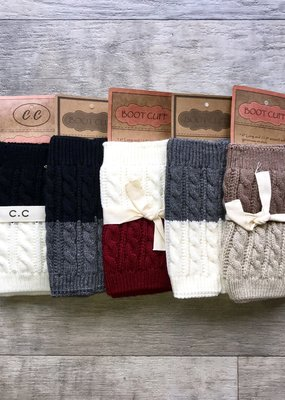 CC CC Reversible Boot Cuffs