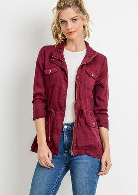 C'ESTTOI Mulberry Tencil Jacket