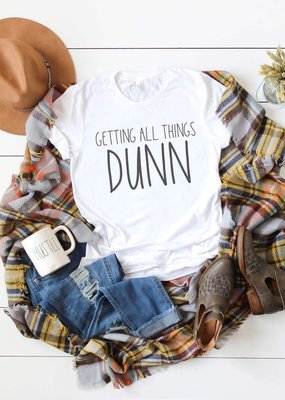 Crazy Cool Threads All Things DUNN Graphic Tee