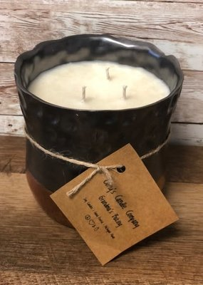 Curly's Candle Company Curly's 3-Wick Soy Candle - Grandma's Baking