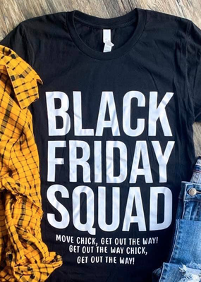 Bella Canvas Black Friday Squad Tee
