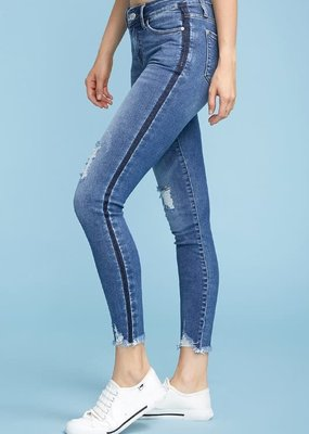 Judy Blue Judy Blue Side Relased Hem Skinnies