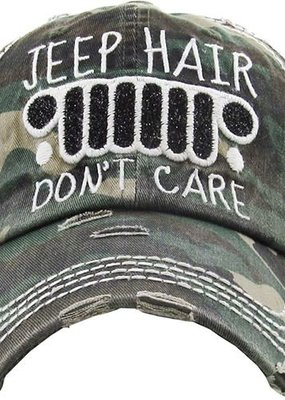 Jeep Hair Dont Care Camouflage