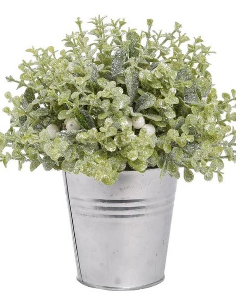 Home & Garden Green Faux Sparkley Holiday Plant