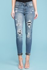 Judy Blues Judy Blue Camo Patch Skinnies